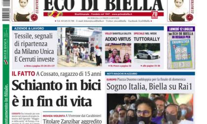 Le esclusive del nuovo Eco di Biella da oggi in edicola