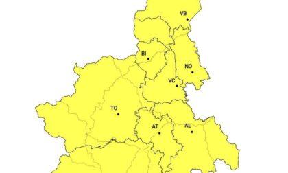Meteo, allerta gialla: in arrivo temporali intensi