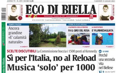 I nuovi limiti anticovid in provincia, l'infermiera stalker e le storie esclusive di Eco di Biella oggi in edicola