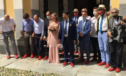 """Giuseppe e Ilaria sposi, nel giorno del """"sí"""" aiuto contro la violenza sulle donne"""