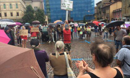 I No Pass biellesi tornano a manifestare: stavolta in Piazza Vittorio Veneto