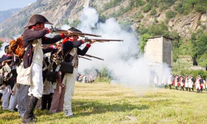 Al Forte di Bard, tra musica e rievocazioni storiche
