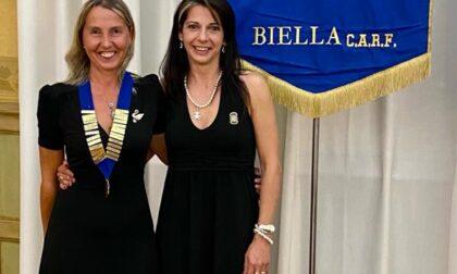 Nuova presidente per l'Inner Wheel Club Biella