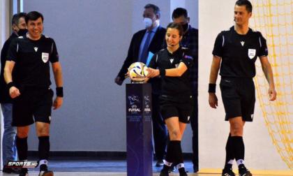 Chiara Perona sarà l'unico arbitro italiano alle finali dei Mondiali di Calcio a 5