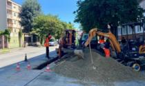 Elettrificazione Biella-Santhià, avanzano i lavori in viale Macallé