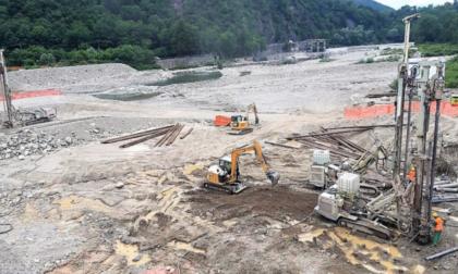 Ponte Romagnano, partiti i lavori sulla sponda di Gattinara