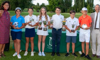 I nazionali under 12 sotto i riflettori al Golf Club di Cavaglià