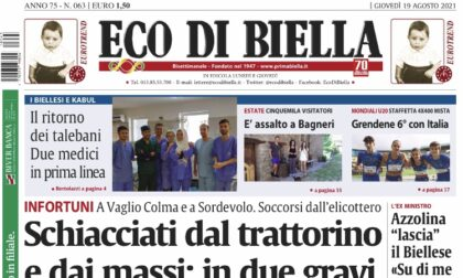 Eco di Biella in edicola con tante notizie esclusive