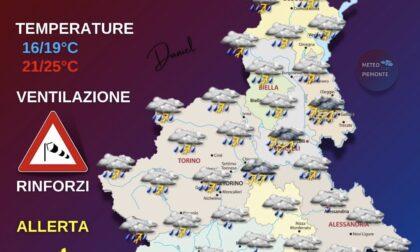 Tornano i temporali, ecco le previsioni di oggi