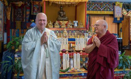 Al monastero buddista di Graglia la benedizione ai morti