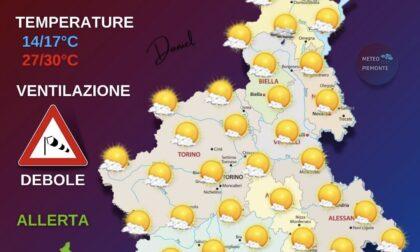 Meteo: ventilazione, temperature, ecco le previsioni di oggi