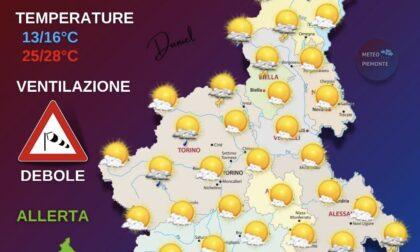 Temperature in picchiata, ecco le previsioni di oggi