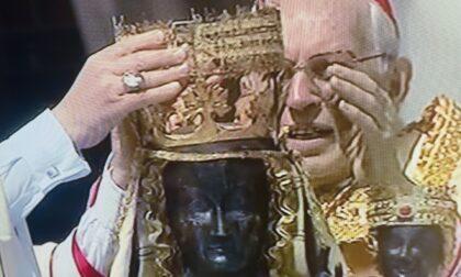 V Incoronazione Madonna di Oropa, ecco le immagini della cerimonia e il saluto di Papa Francesco
