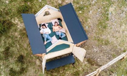 All'Oasi Zegna sbarca la StarsBox: il rifugio che spalanca il tetto alle stelle