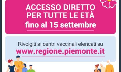 Vaccinazione ad accesso diretto posticipata in Piemonte per gli over 12