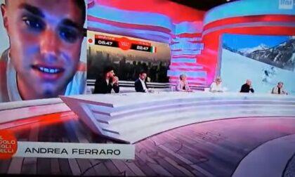 """Andrea Ferraro porta Special Olympics al """"Circolo degli anelli"""" su Rai 2"""