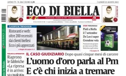 OGGI SU ECO DI BIELLA - La classifica dei migliori 200 ristoranti di Biella e del Biellese votati su TripAdvisor