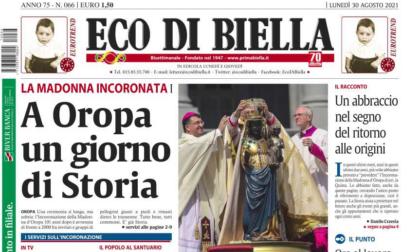 Eco di Biella, oggi un numero da collezione con foto e storie dell'Incoronazione