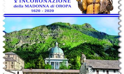 Santuario d'Oropa, ecco il francobollo