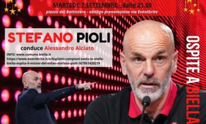 """Stefano Pioli questa sera a Biella per """"Campioni sotto le Stelle"""""""