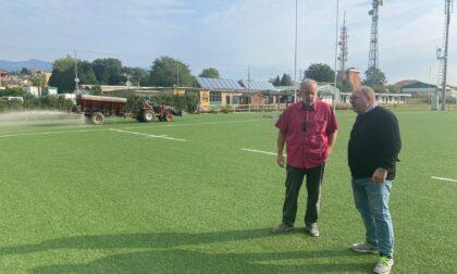 Cittadella del rugby: quasi concluso il restyling del campo in sintetico