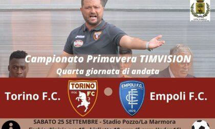 Torna il grande calcio: arriva al La Marmora Torino-Empoli