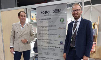 Azienda biellese prima in Italia a ottenere il marchio sostenibilità