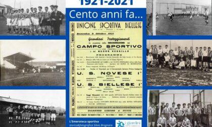 Centenario dello storico Campo Rivetti, Biella rievoca la partita Biellese-Novese